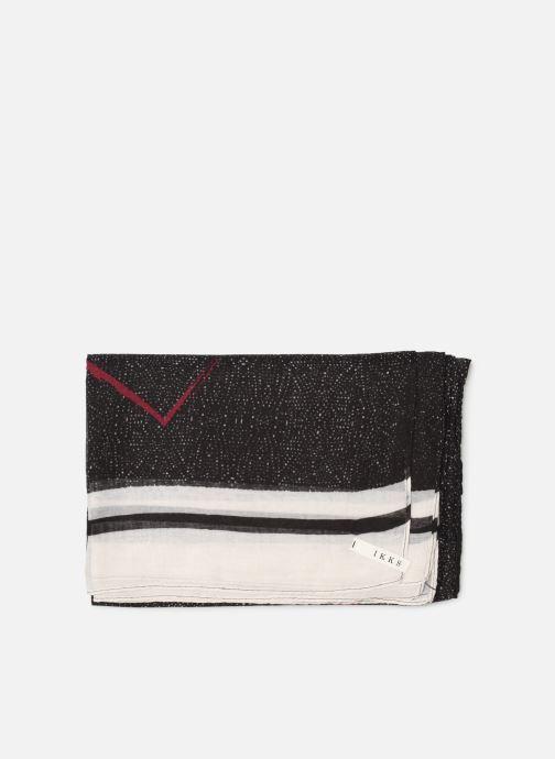Echarpes et Foulards IKKS Women Cheich Noir vue portées chaussures