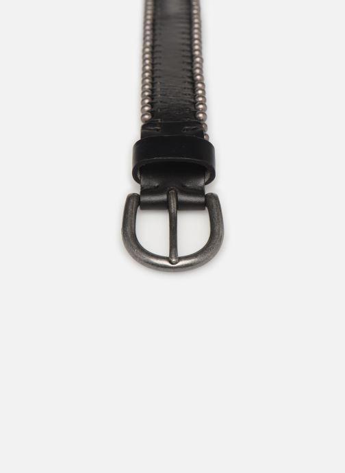 Cinturones IKKS Women Ceinture denim studs Negro vista del modelo