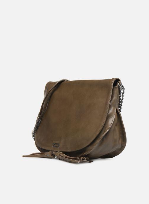 Handbags IKKS Women Plum Green model view