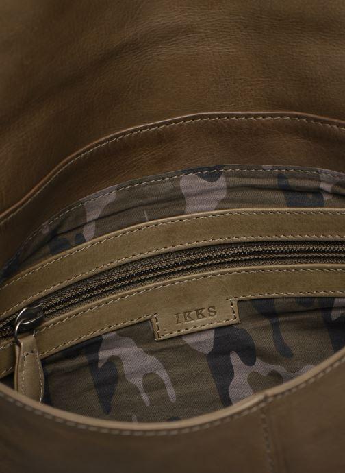 Handbags IKKS Women Plum Green back view