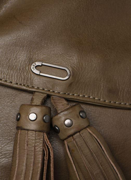 Handbags IKKS Women Plum Green view from the left