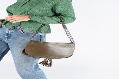 Handbags IKKS Women Plum Green view from underneath / model view