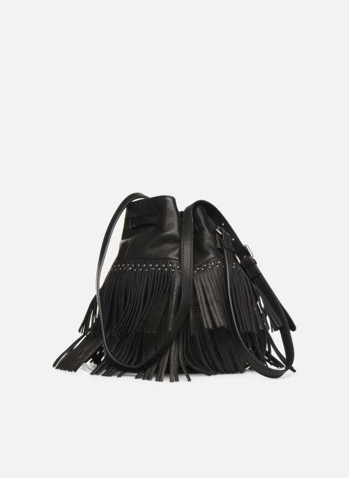 Handtaschen IKKS Women Shopper schwarz ansicht von rechts
