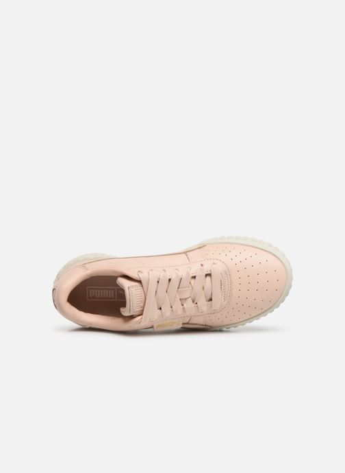 Trainers Puma Cali Emboss Wns Pink view from the left