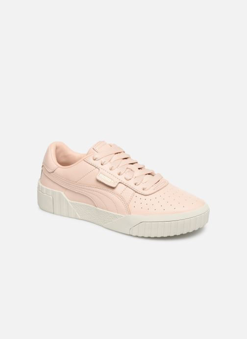 Trainers Puma Cali Emboss Wns Pink detailed view/ Pair view