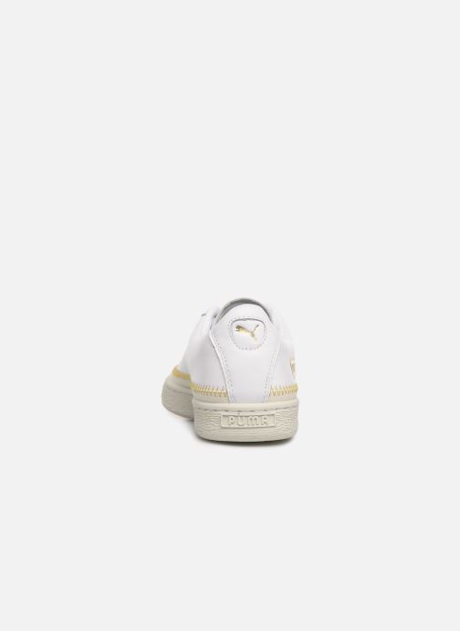 Trainers Puma Basket Arrow Head White view from the right