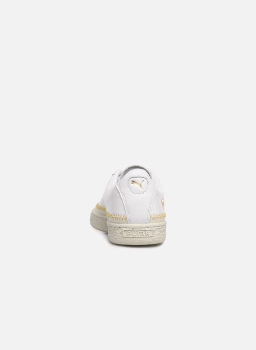 Sneakers Puma Basket Arrow Head Wit rechts