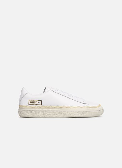 Trainers Puma Basket Arrow Head White back view
