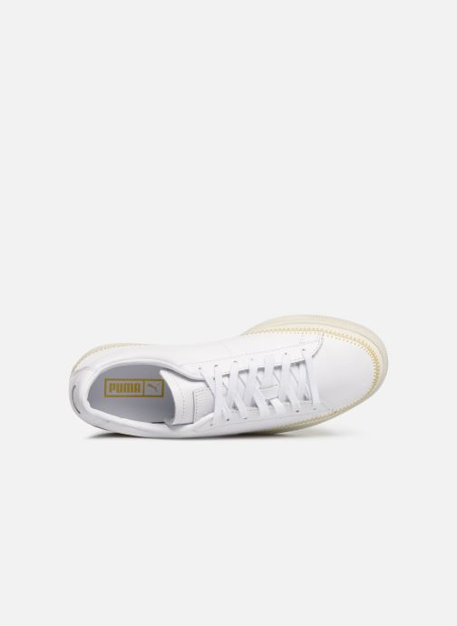 Trainers Puma Basket Arrow Head White view from the left