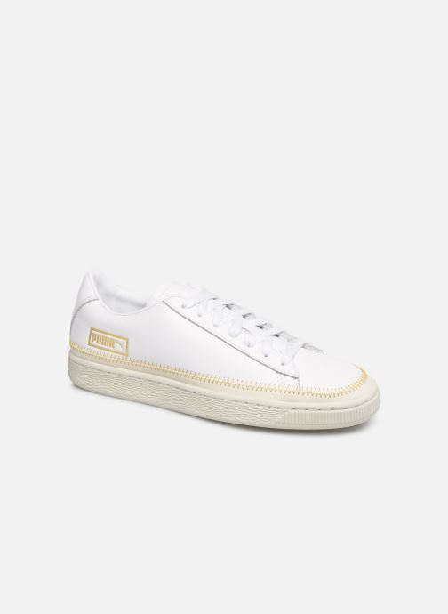 Trainers Puma Basket Arrow Head White detailed view/ Pair view
