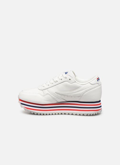 Sneakers FILA Orbit Zeppa Stripe Wmn Wit voorkant