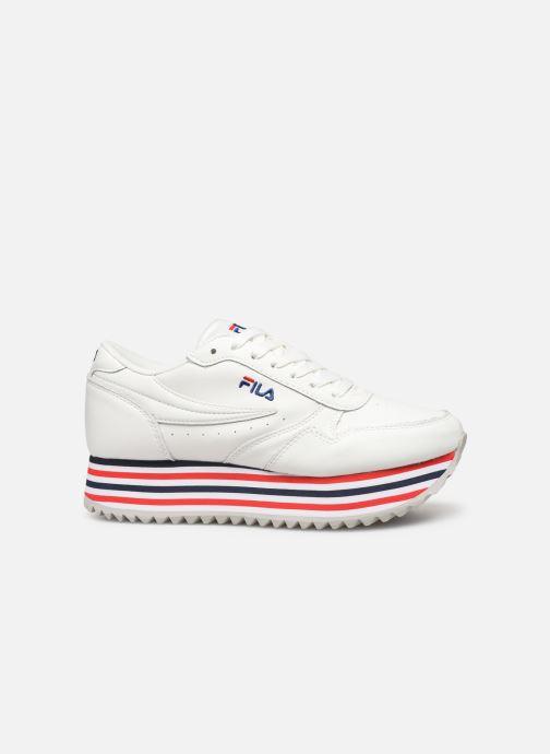Sneakers FILA Orbit Zeppa Stripe Wmn Wit achterkant