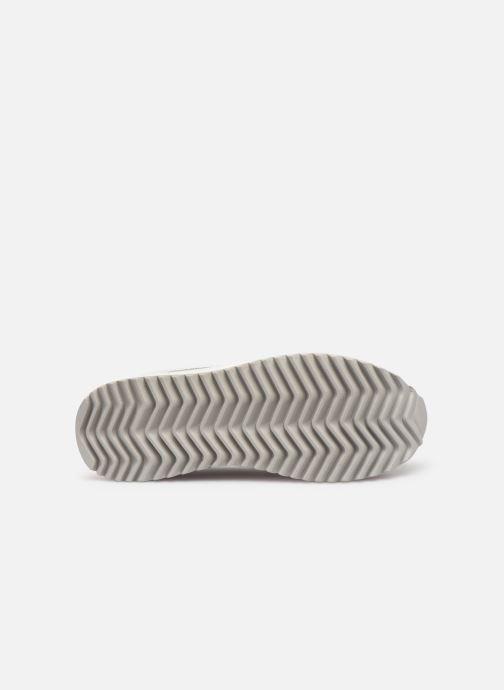 Baskets FILA Orbit Zeppa Stripe Wmn Blanc vue haut