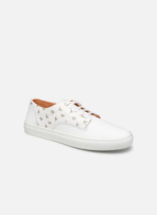 Sneakers Mr SARENZA Mr Sarenza x Cuisse de Grenouille Basket Vahinés Wit rechts
