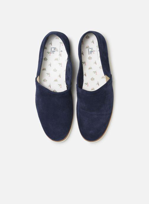 Espadrilles Mr SARENZA Mr Sarenza x Cuisse de Grenouille Espadrille Bleu vue portées chaussures