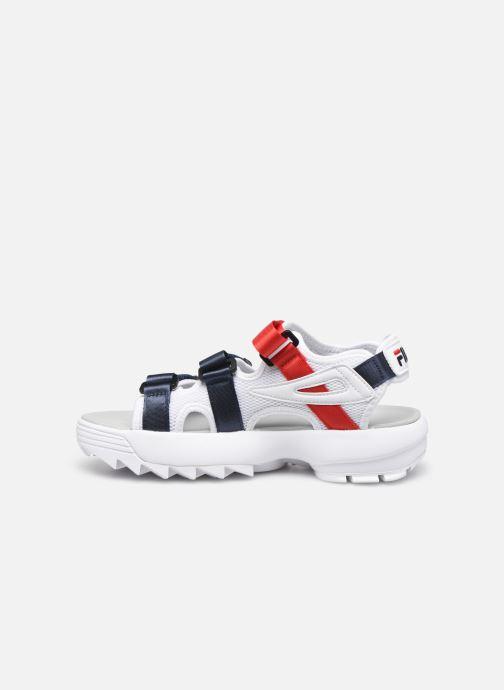 Sandales et nu-pieds FILA Disruptor Sandal Wmn Multicolore vue face
