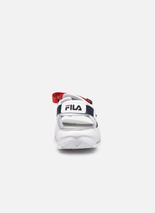 Sandales et nu-pieds FILA Disruptor Sandal Wmn Multicolore vue droite