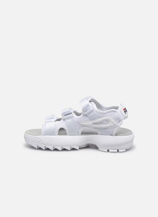 Sandales et nu-pieds FILA Disruptor Sandal Wmn Blanc vue face