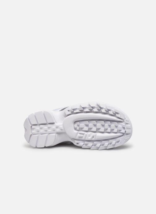 Sandales et nu-pieds FILA Disruptor Sandal Wmn Blanc vue haut
