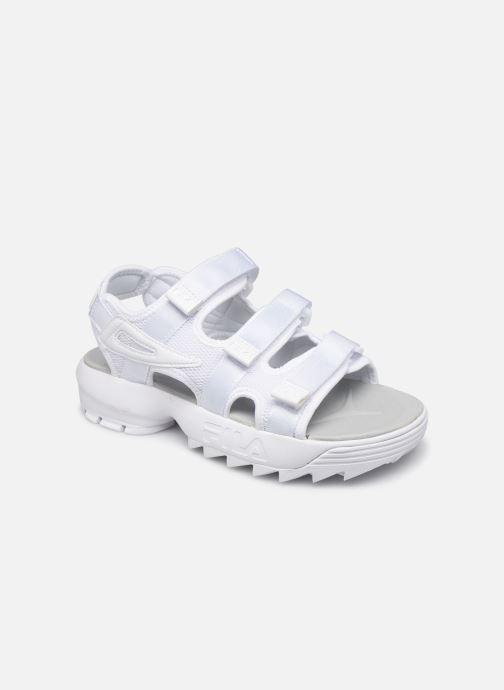 Sandales et nu-pieds FILA Disruptor Sandal Wmn Blanc vue détail/paire