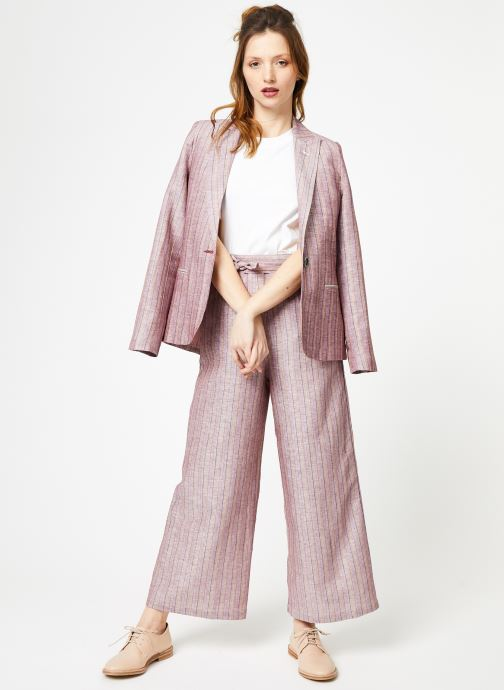 Vêtements Yuka Veste Constance Rose vue bas / vue portée sac