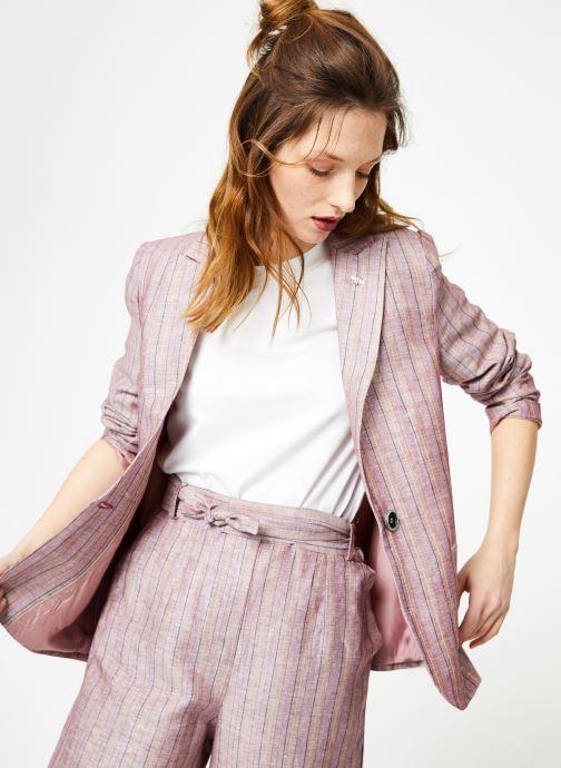 Vêtements Yuka Veste Constance Rose vue détail/paire