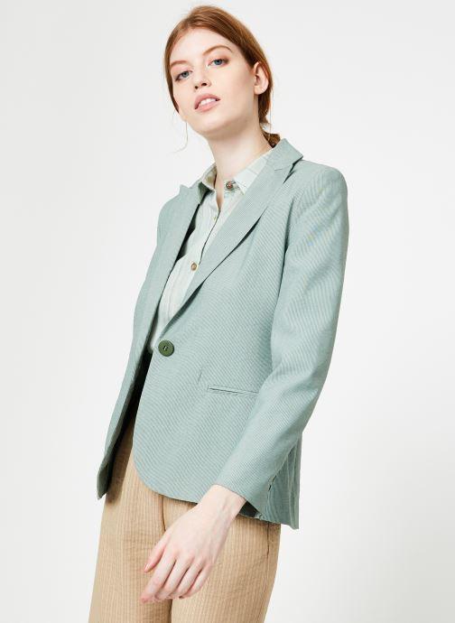Vêtements Yuka Veste Liam Vert vue droite