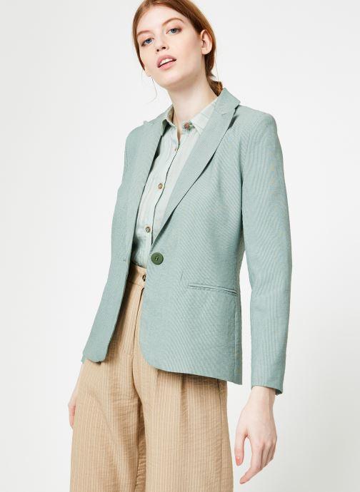 Vêtements Yuka Veste Liam Vert vue détail/paire