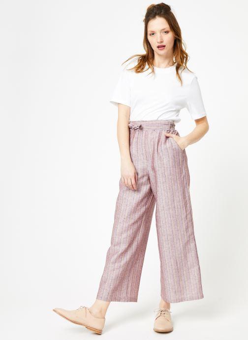 Vêtements Yuka Pantalon Josey Beige vue bas / vue portée sac