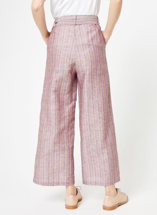 Vêtements Yuka Pantalon Josey Beige vue portées chaussures