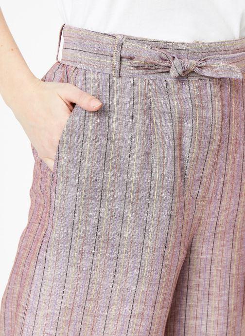 Tøj Yuka Pantalon Josey Beige se forfra