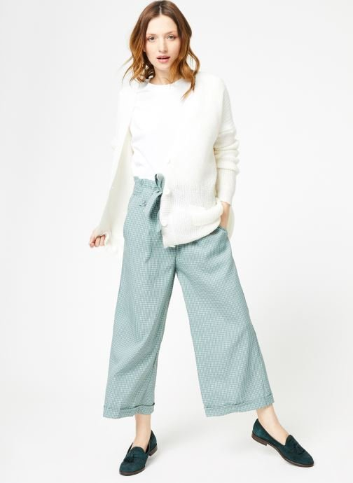 Vêtements Yuka Pantalon Rosario Vert vue bas / vue portée sac