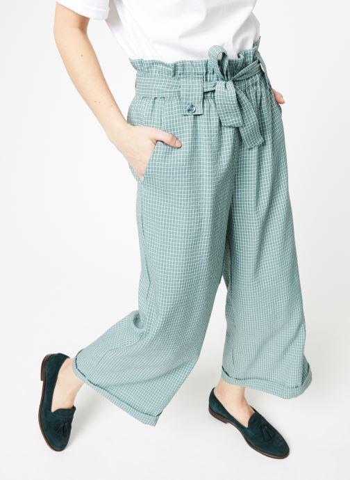 Vêtements Yuka Pantalon Rosario Vert vue détail/paire