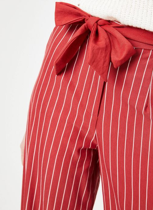 Vêtements Yuka Pantalon Sydney Rouge vue face