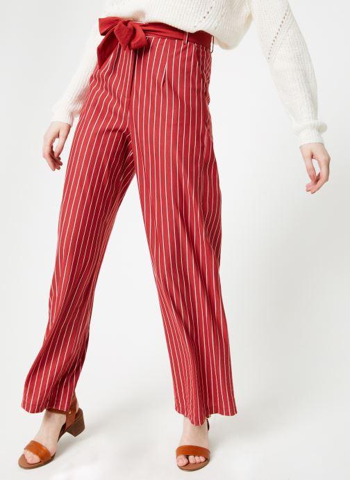 Vêtements Yuka Pantalon Sydney Rouge vue détail/paire