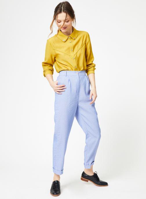 Tøj Yuka Pantalon Chicago Blå se forneden