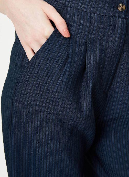 Vêtements Yuka Pantalon Ysia Bleu vue face