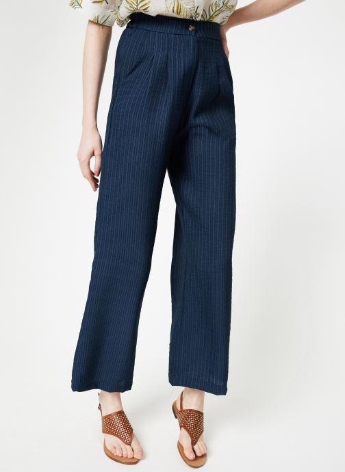 Vêtements Yuka Pantalon Ysia Bleu vue détail/paire