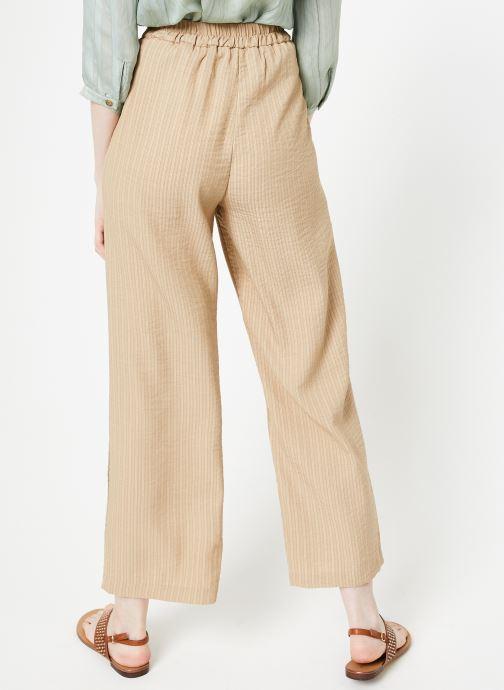 Vêtements Yuka Pantalon Ysia Beige vue portées chaussures