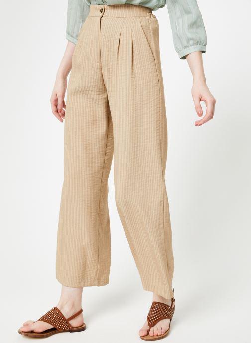 Vêtements Yuka Pantalon Ysia Beige vue détail/paire