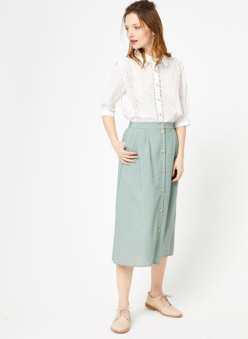 Vêtements Yuka Jupe Dakota Vert vue bas / vue portée sac