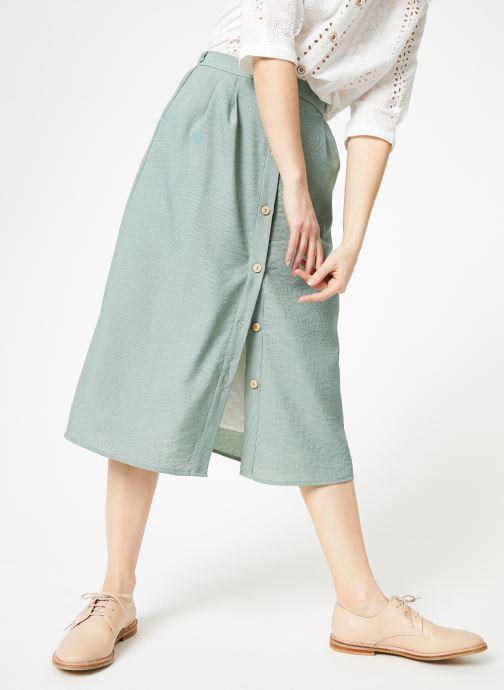 Vêtements Yuka Jupe Dakota Vert vue détail/paire