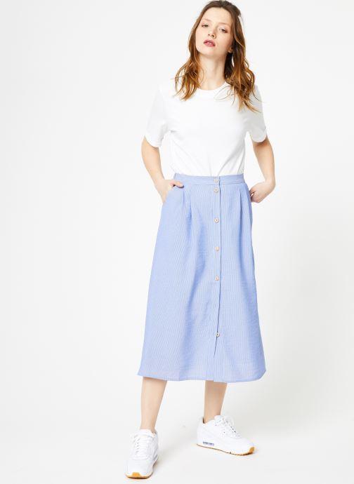 Vêtements Yuka Jupe Dakota Bleu vue bas / vue portée sac