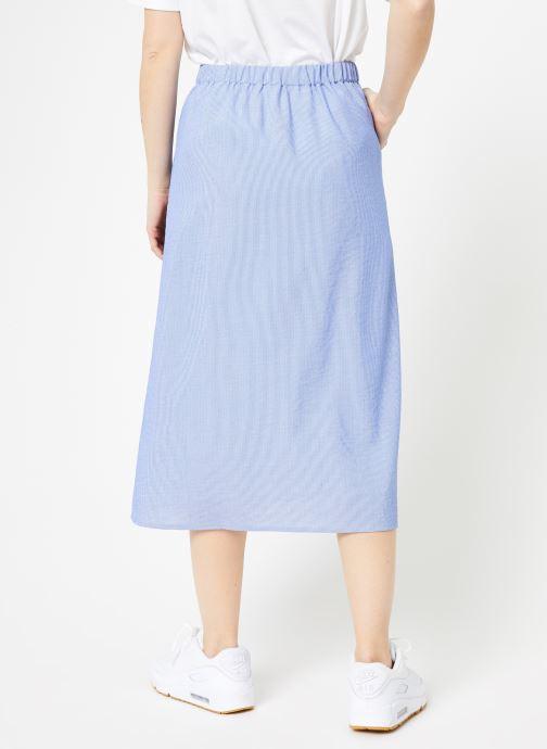 Vêtements Yuka Jupe Dakota Bleu vue portées chaussures