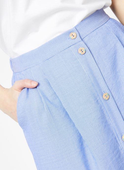 Vêtements Yuka Jupe Dakota Bleu vue face