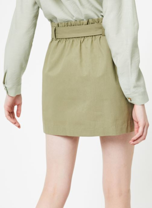 Vêtements Yuka Jupe Rebecca Vert vue portées chaussures