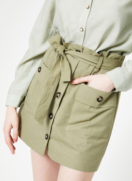 Vêtements Yuka Jupe Rebecca Vert vue détail/paire