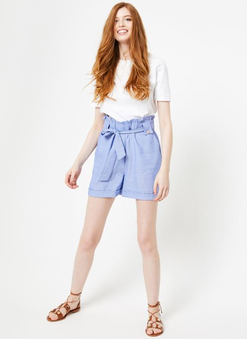 Vêtements Yuka Short Austin Bleu vue bas / vue portée sac