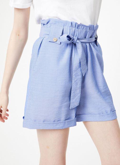 Vêtements Yuka Short Austin Bleu vue détail/paire