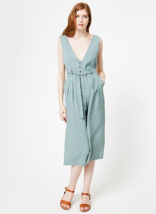 Vêtements Yuka Combinaison Lila Vert vue bas / vue portée sac